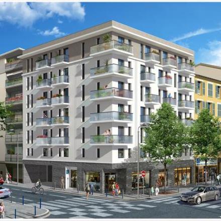 Новая резиденция в самом центре ниццы, франция