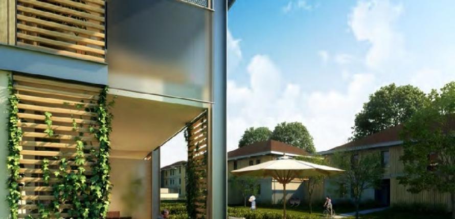 Апартаменты в новой резиденции в шен-сюр-леман