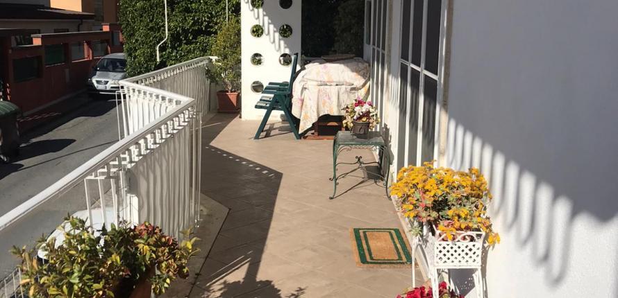 Апартаменты с садом в Оспедалетти
